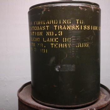 Five Gallon Camp Fuel Drum - Petroliana