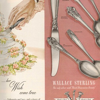 1951 - Wallace Sterling Advertisement