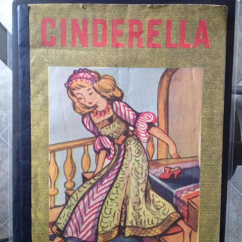 Old Cinderella Book unknown MFG or date of production.