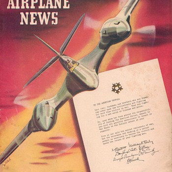 1945 - Model Airplane News magazine - June