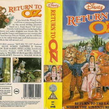 RETURN TO OZ,SCARED THE KIDS & THE PARENTS AS WELL! - Movies