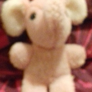 small pink elephant unknown maker