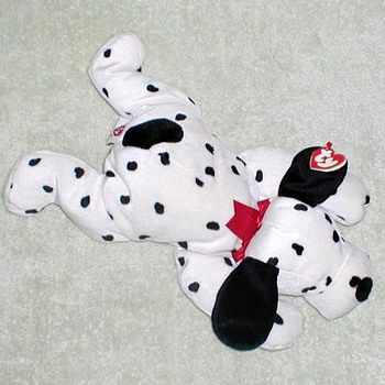 "1997 - TY Pillow Pal ""Spotty"" Dalmatian"