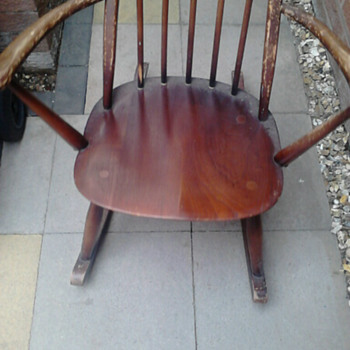 old childrens rocking chair
