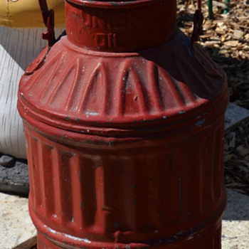 Antique Union Oil Can