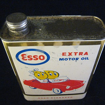 Esso Motor Oil Can 2 Liters - Petroliana