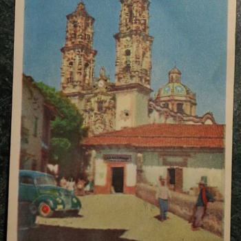 Postcard from Mexico City, 1949 - Postcards