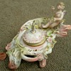 Fancy Porcelain Baby Mercury Inkwell 