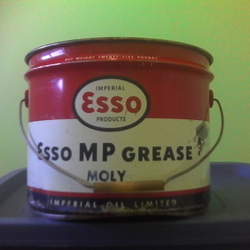 Imperial Esso Grease Pail - Petroliana