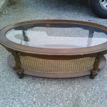 Dumpster coffee table - Furniture