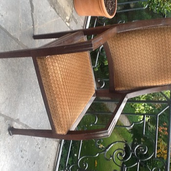 1900s? european art nouveau? arts and crafts? Armchair