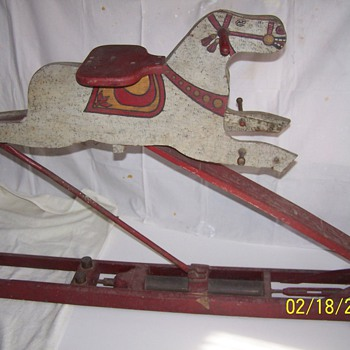 Hydraulic Rocking Horse