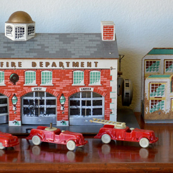 My Keystone Fire Station Playset - Model Cars