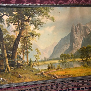 Nice, old print of Yosemite Valley - Posters and Prints