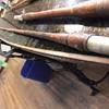 6 sided bamboo fishing poles
