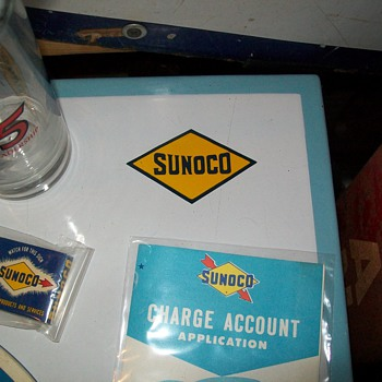 Sunoco Credit Card table
