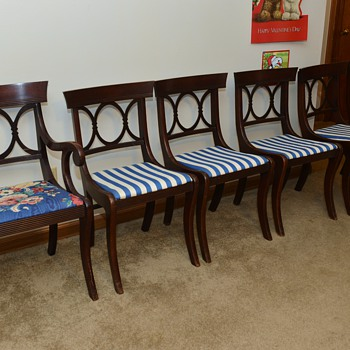 I found a Set of 6 Tell City Chairs Would love to learns some history on them - Furniture