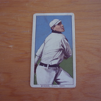 1909-1911 T206 ALBERT CHIEF BENDER BASEBALL TOBACCO CARD - Baseball