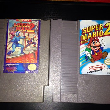 Two Vintage NES Games :) - Games