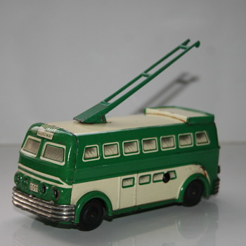joustra broadway trolley bus - Toys