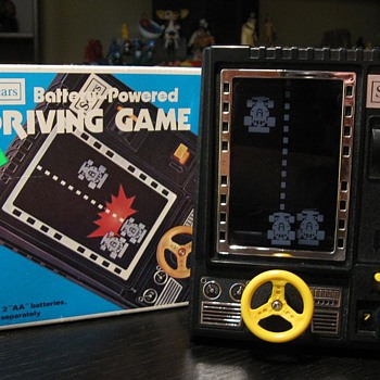 Late '70s Sears Racing Game - Games