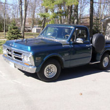 1971 GMC 1500 shorty step side - Classic Cars