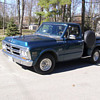 1971 GMC 1500 shorty step side