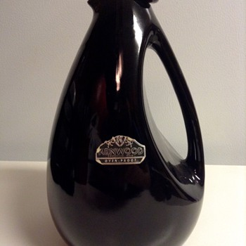"Kenwood ""Black Bird"" Pitcher by  Shawnee"
