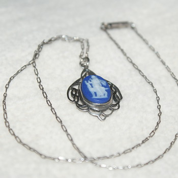 Wedgwood Vintage Sterling Necklace - Fine Jewelry