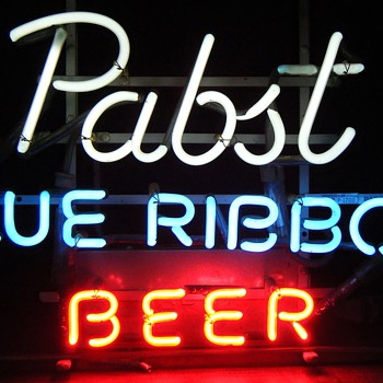 Pabst Blue Ribbon Brewery Signs - Signs