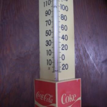 Coca Cola Thermometer - Coca-Cola
