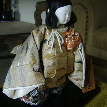 Japanese doll from 1960's