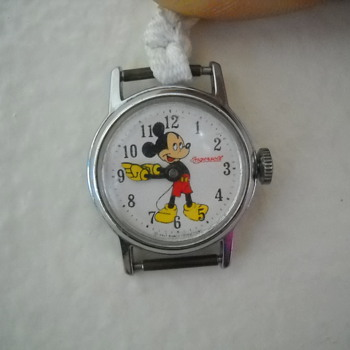 Unknown Ingersoll Mickey Mouse Watch - Wristwatches