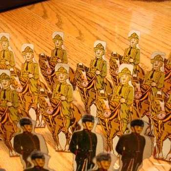 sheet metal army men
