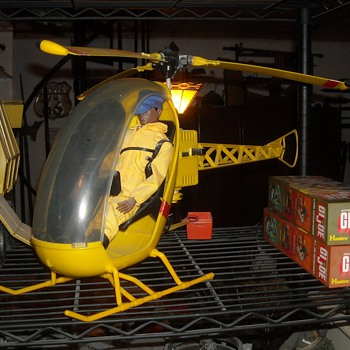 GI Joe Adventure Team Helicopter - Toys