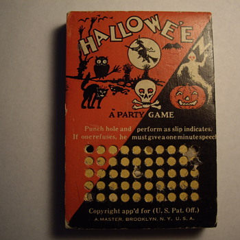 Halloween   A Party Game