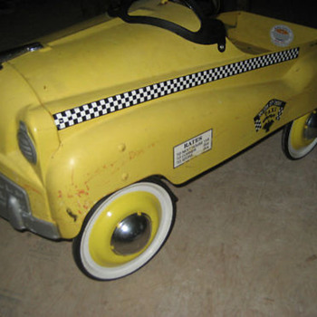 Taxi Pedal Car