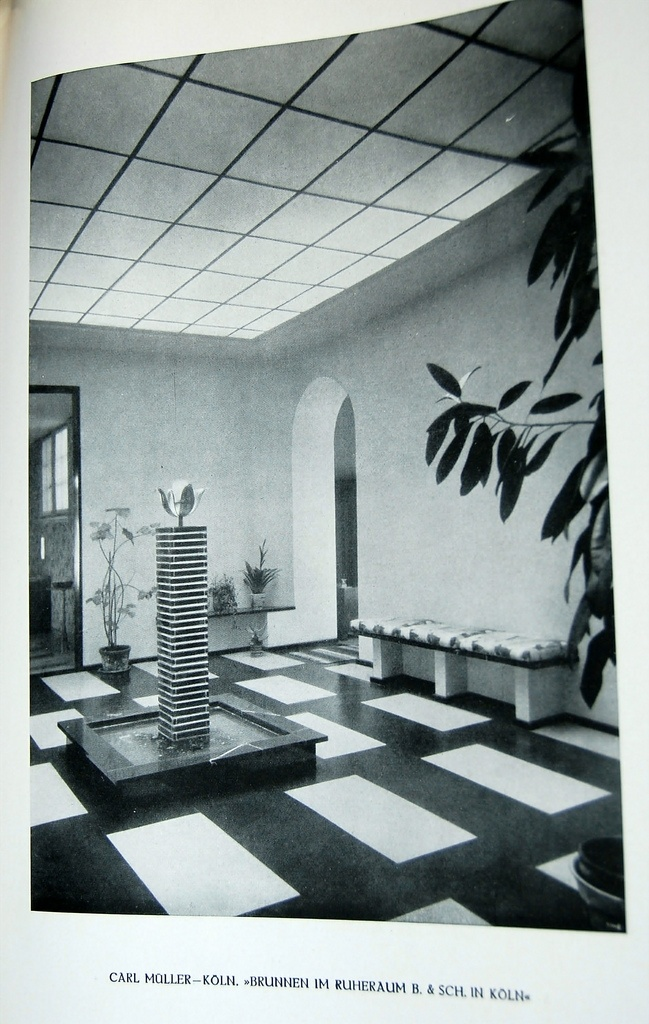 1930 german magazine on design interior decorating for Innendekoration flims