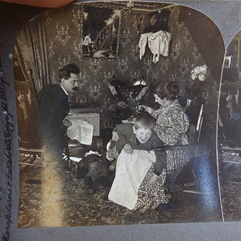 Most Interesting Stereoview Card - Photographs