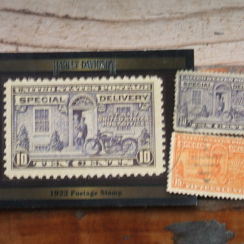 Harley Collectables - Stamps