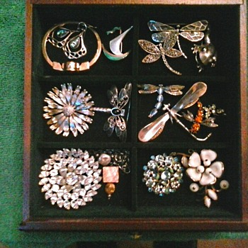 "Two More Drawers....High Boy Jewelry Chest ""Part Two"" - Costume Jewelry"