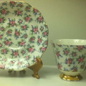 1960s-1970s Royal Albert Cup and Saucer Set