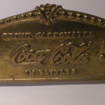 Coca Cola Los Angeles Cash Register Sign