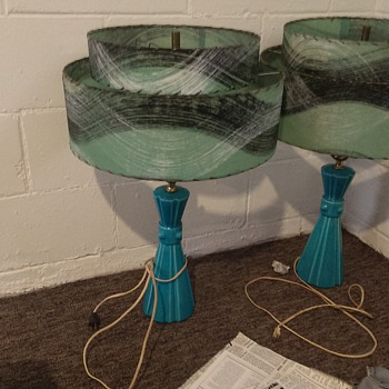 AWESOME (what I assume are) Mid-Century lamps!   - Lamps