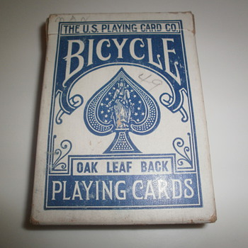 Bicycle Oak Leaf Playing Cards - Cards