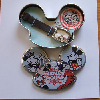 2008 80th Birthday Edition Mickey Wristwatch