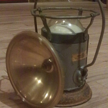 Old Boy Scouts Lantern  - Outdoor Sports