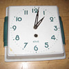Antique 1940&#039;s French JAZ wall clock.