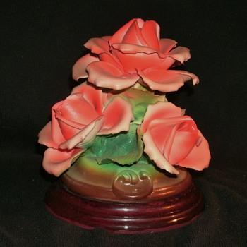 Capodimonte Roses - Art Pottery
