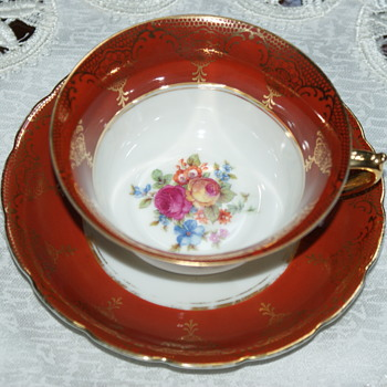 Pretty Tea Cup with Unknown Mark